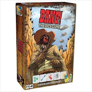 Da Vinci Bang!: The Dice Game-Toy - www.Gifteee.com - Cool Gifts \ Unique Gifts - The Best Gifts for Men, Women and Kids of All Ages