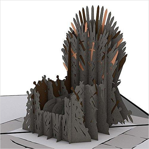 Lovepop The Iron Throne Game of Thrones Pop Up Birthday Card-Office Product - www.Gifteee.com - Cool Gifts \ Unique Gifts - The Best Gifts for Men, Women and Kids of All Ages