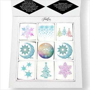 Snowflake Magic Printed Magical Marshmallows - Find unique love and romance gifts, special gifts for Valentine's day, beautiful gifts for your girl friend to spread love into the air at Gifteee Cool gifts, Unique Gifts for Valentine's day