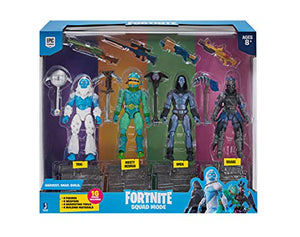 Fortnite Squad Mode 4-Figure Pack, Series 2 - Find Fortnite Battle Royale and Fortnite Chapter 2 Gifts for Fortnite Fans, and Epic games official gifts at Gifteee Unique Gifts, Cool gifts for kids and gamers