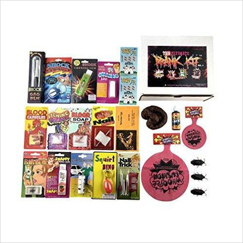 The Ultimate Prank Kit No.1-Toy - www.Gifteee.com - Cool Gifts \ Unique Gifts - The Best Gifts for Men, Women and Kids of All Ages