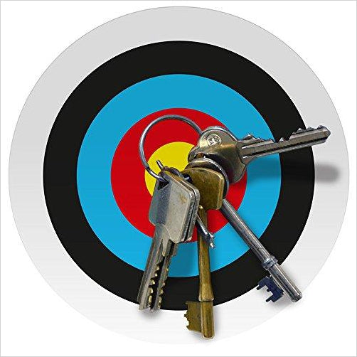 Magnetic Key Target Board - Gifteee. Find cool & unique gifts for men, women and kids