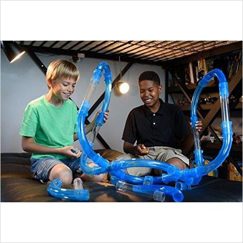 Speed Pipes Race Car Set - Find unique gifts for boys age 5-11 year old, gifts for your son, gifts for your kids birthday or Christmas, gifts for you children classmates and friends at Gifteee Unique Gifts, Cool gifts for boys