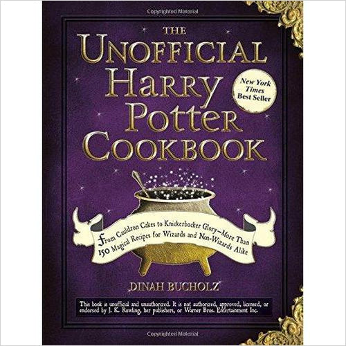 The Unofficial Harry Potter Cookbook - Find unique gifts that will get you kids eating well and eating healthy with unique foodie gifts for kids dinner and the kitchen at Gifteee Cool gifts, Unique Gifts that will make kids enjoy eating