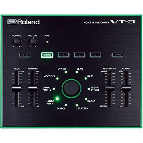 Roland AIRA Series VT-3 Voice Transformer - Gifteee. Find cool & unique gifts for men, women and kids