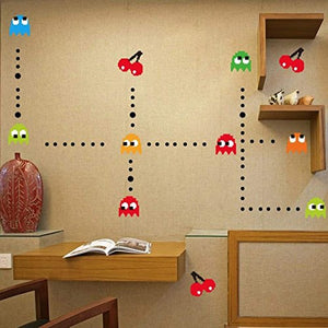 Pac-Man Game Wall Decal - Gifteee. Find cool & unique gifts for men, women and kids