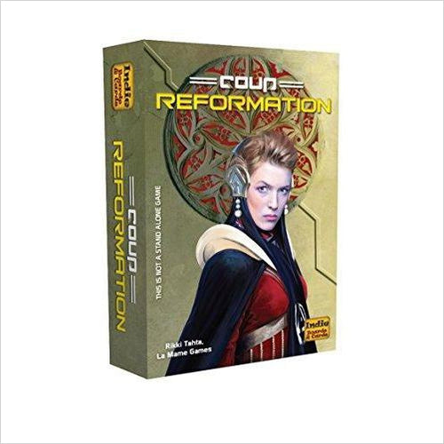 Coup Reformation (an expansion)-Toy - www.Gifteee.com - Cool Gifts \ Unique Gifts - The Best Gifts for Men, Women and Kids of All Ages