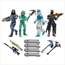 Load image into Gallery viewer, Fortnite Squad Mode 4-Figure Pack, Series 2 - Find Fortnite Battle Royale and Fortnite Chapter 2 Gifts for Fortnite Fans, and Epic games official gifts at Gifteee Unique Gifts, Cool gifts for kids and gamers