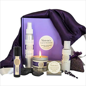 Luxury Lavender Gift Set-Beauty - www.Gifteee.com - Cool Gifts \ Unique Gifts - The Best Gifts for Men, Women and Kids of All Ages