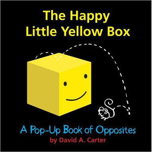 The Happy Little Yellow Box: A Pop-Up Book of Opposites - Gifteee. Find cool & unique gifts for men, women and kids
