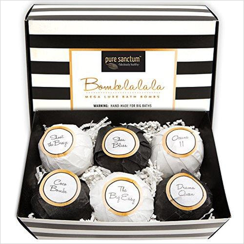 Luxury Bath Fizzies-Beauty - www.Gifteee.com - Cool Gifts \ Unique Gifts - The Best Gifts for Men, Women and Kids of All Ages