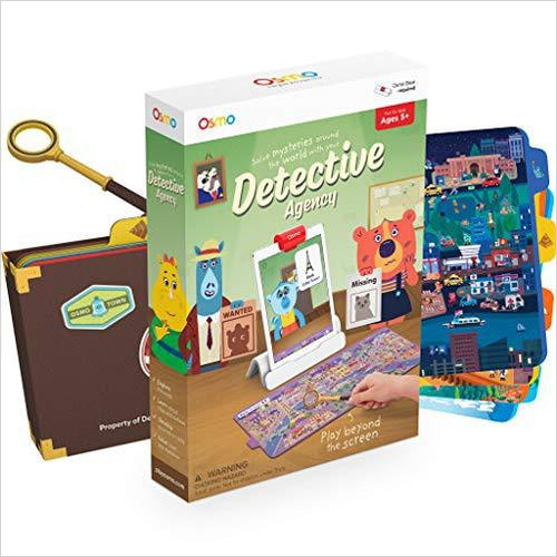 Detective Agency: A Search & Find Mystery Game-Toy - www.Gifteee.com - Cool Gifts \ Unique Gifts - The Best Gifts for Men, Women and Kids of All Ages