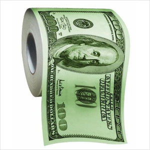 One Hundred Dollar Bill - Toilet Paper - Gifteee. Find cool & unique gifts for men, women and kids
