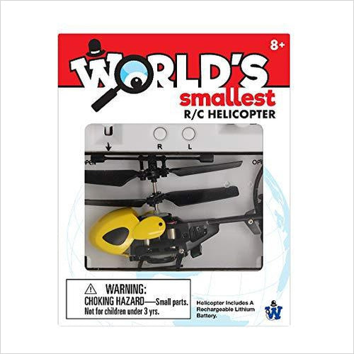 World's Smallest RC Helicopter - Gifteee. Find cool & unique gifts for men, women and kids