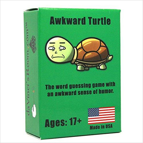 Awkward Turtle The Word Card Game for Adults [A Party Game] - Find birthday unique party accessories and cool birthday party supplies and also birthday party games for kids and adults at Gifteee Unique Gifts, Cool gifts for kids of all ages