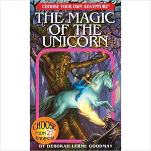 The Magic of the Unicorn (Choose Your Own Adventure) - Find Unicorn gifts for girls and unicorn gifts for women, magical unicorn gifts ideas - jewelry, clothing, accessories and games at Gifteee Unique Gifts, Cool gifts for unicorn lovers