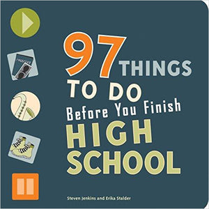 97 Things to Do Before You Finish High School-book - www.Gifteee.com - Cool Gifts \ Unique Gifts - The Best Gifts for Men, Women and Kids of All Ages