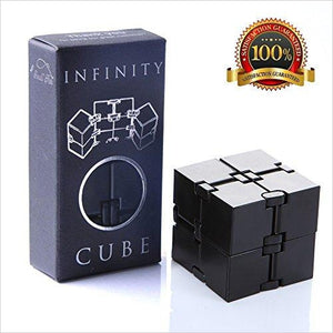 Infinity Cube Fidget Toy - Find unique decor gifts for the office and workplace, get cool gadgets for your office desk and cubicle at Gifteee Cool gifts, Unique decor Gifts for the office and workplace