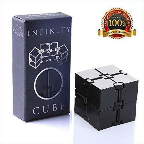 Infinity Cube Fidget Toy-Toy - www.Gifteee.com - Cool Gifts \ Unique Gifts - The Best Gifts for Men, Women and Kids of All Ages