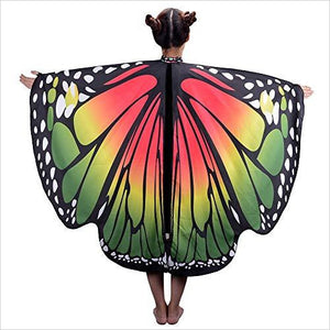 Butterfly Wings Shawl-Apparel - www.Gifteee.com - Cool Gifts \ Unique Gifts - The Best Gifts for Men, Women and Kids of All Ages