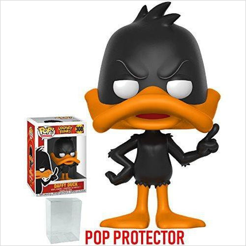 Funko Pop! Animation: Looney Tunes - Daffy Duck Vinyl Figure-Toy - www.Gifteee.com - Cool Gifts \ Unique Gifts - The Best Gifts for Men, Women and Kids of All Ages