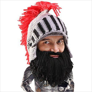 Beard Head Knight Beanie-Apparel - www.Gifteee.com - Cool Gifts \ Unique Gifts - The Best Gifts for Men, Women and Kids of All Ages