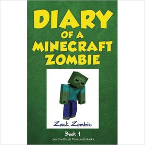 Diary of a Minecraft Zombie Book 1: A Scare of A Dare (Volume 1)-book - www.Gifteee.com - Cool Gifts \ Unique Gifts - The Best Gifts for Men, Women and Kids of All Ages