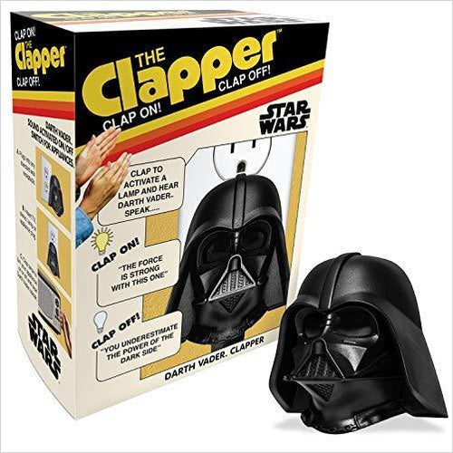 Star Wars Clapper Light Switch - Find unique gifts for Star Wars fans, new star wars games and Star wars LEGO sets, star wars collectibles, star wars gadgets and kitchen accessories at Gifteee Cool gifts, Unique Gifts for Star Wars fans