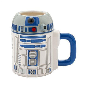 Star Wars R2-D2 Ceramic Mug-Kitchen - www.Gifteee.com - Cool Gifts \ Unique Gifts - The Best Gifts for Men, Women and Kids of All Ages