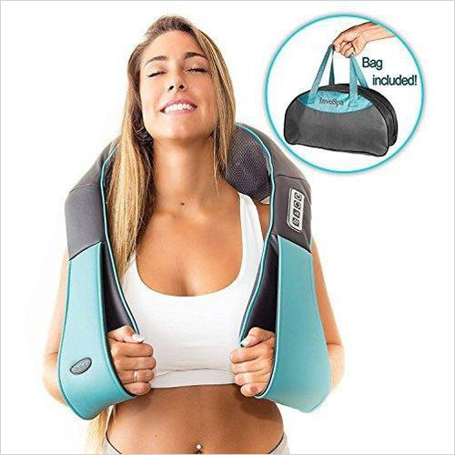 Shiatsu Back Neck and Shoulder Deep Tissue Massager with Heat-Health and Beauty - www.Gifteee.com - Cool Gifts \ Unique Gifts - The Best Gifts for Men, Women and Kids of All Ages