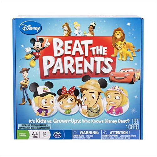 Spin Master Games Disney Beat the Parents-Toy - www.Gifteee.com - Cool Gifts \ Unique Gifts - The Best Gifts for Men, Women and Kids of All Ages