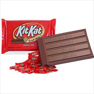 KIT KAT World's Largest Box (2-Pound) - Find unique gifts that will get you kids eating well and eating healthy with unique foodie gifts for kids dinner and the kitchen at Gifteee Cool gifts, Unique Gifts that will make kids enjoy eating