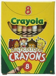 Crayola Multicultural Crayons -24 Count - Gifteee. Find cool & unique gifts for men, women and kids
