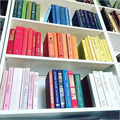 Real Books by Color for Decor - Gifteee. Find cool & unique gifts for men, women and kids
