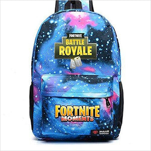Fortnite School Backpack - Find Fortnite Battle Royale and Fortnite Chapter 2 Gifts for Fortnite Fans, and Epic games official gifts at Gifteee Unique Gifts, Cool gifts for kids and gamers