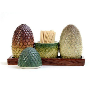 Game of Thrones Dragon EGG Salt & Pepper Shaker