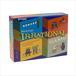 Irrational Game - Find unique STEM gifts find science kits, educational games, environmental gifts and toys for boys and girls at Gifteee Cool gifts, Unique Gifts for science lovers