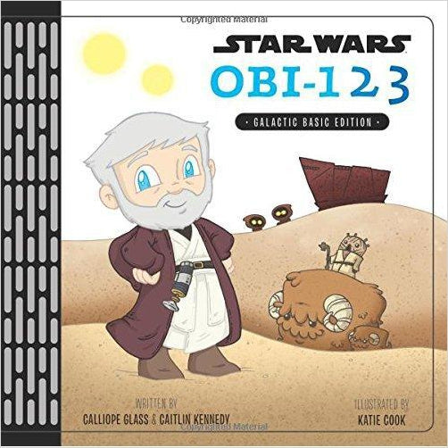 Star Wars OBI-123: A Book of Numbers - Find unique gifts for Star Wars fans, new star wars games and Star wars LEGO sets, star wars collectibles, star wars gadgets and kitchen accessories at Gifteee Cool gifts, Unique Gifts for Star Wars fans