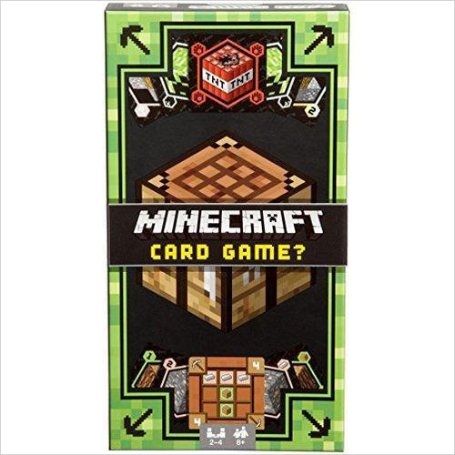 Minecraft Card Game - Gifteee. Find cool & unique gifts for men, women and kids