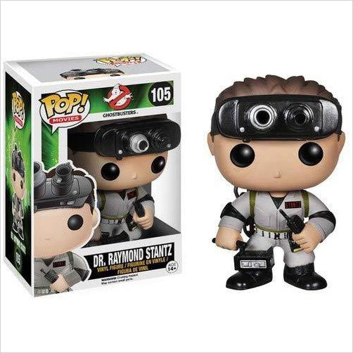 Funko POP GHOSTBUSTERS: Dr Raymond Stant-Toy - www.Gifteee.com - Cool Gifts \ Unique Gifts - The Best Gifts for Men, Women and Kids of All Ages