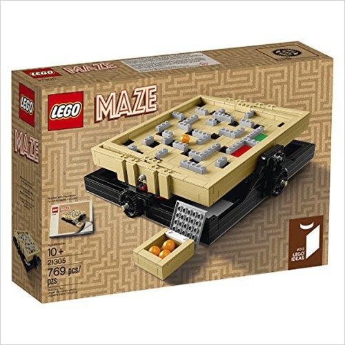 LEGO Maze Building Kit-lego - www.Gifteee.com - Cool Gifts \ Unique Gifts - The Best Gifts for Men, Women and Kids of All Ages