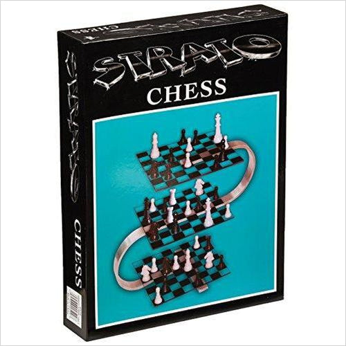 Strato Chess - Three Dimensional Chess Game-chess - www.Gifteee.com - Cool Gifts \ Unique Gifts - The Best Gifts for Men, Women and Kids of All Ages
