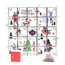 Load image into Gallery viewer, English Tea Shop Organic White Ornaments Advent Calendar Puzzle