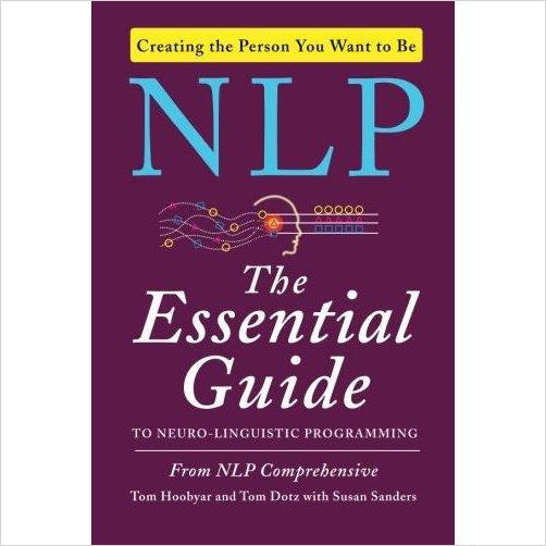 NLP: The Essential Guide to Neuro-Linguistic Programming - Find special books, flip books, pop up books, mysterious books, unique map books, unusual creative books at Gifteee unique books for kids and adults