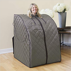 Portable Sauna-Lawn & Patio - www.Gifteee.com - Cool Gifts \ Unique Gifts - The Best Gifts for Men, Women and Kids of All Ages