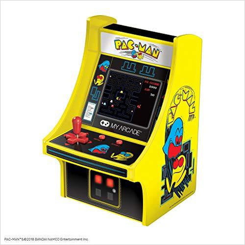 Pac-Man Micro Player - Gifteee. Find cool & unique gifts for men, women and kids