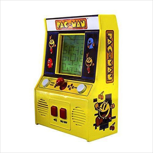Pac-Man Retro Mini Arcade Game-Toy - www.Gifteee.com - Cool Gifts \ Unique Gifts - The Best Gifts for Men, Women and Kids of All Ages