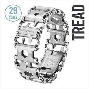 Leatherman - Tread Bracelet-Home Improvement - www.Gifteee.com - Cool Gifts \ Unique Gifts - The Best Gifts for Men, Women and Kids of All Ages