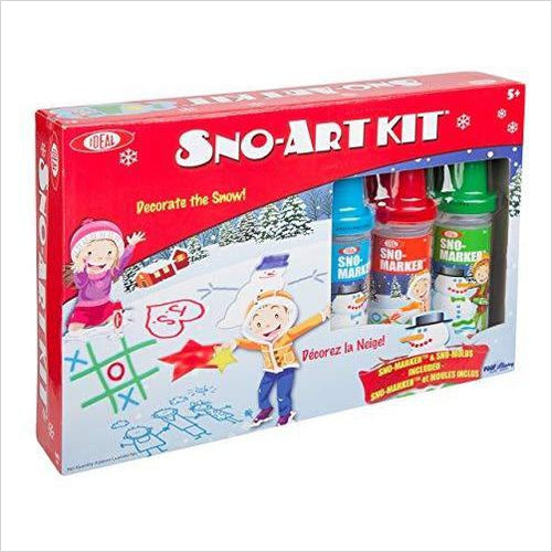 Sno-Art Kit-Toy - www.Gifteee.com - Cool Gifts \ Unique Gifts - The Best Gifts for Men, Women and Kids of All Ages