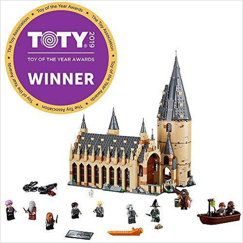 LEGO Harry Potter Hogwarts Great Hall - Find construction toys for kids, building games, LEGO sets and puzzles for the young engineer at Gifteee Unique Gifts, Cool gifts for kids of all ages